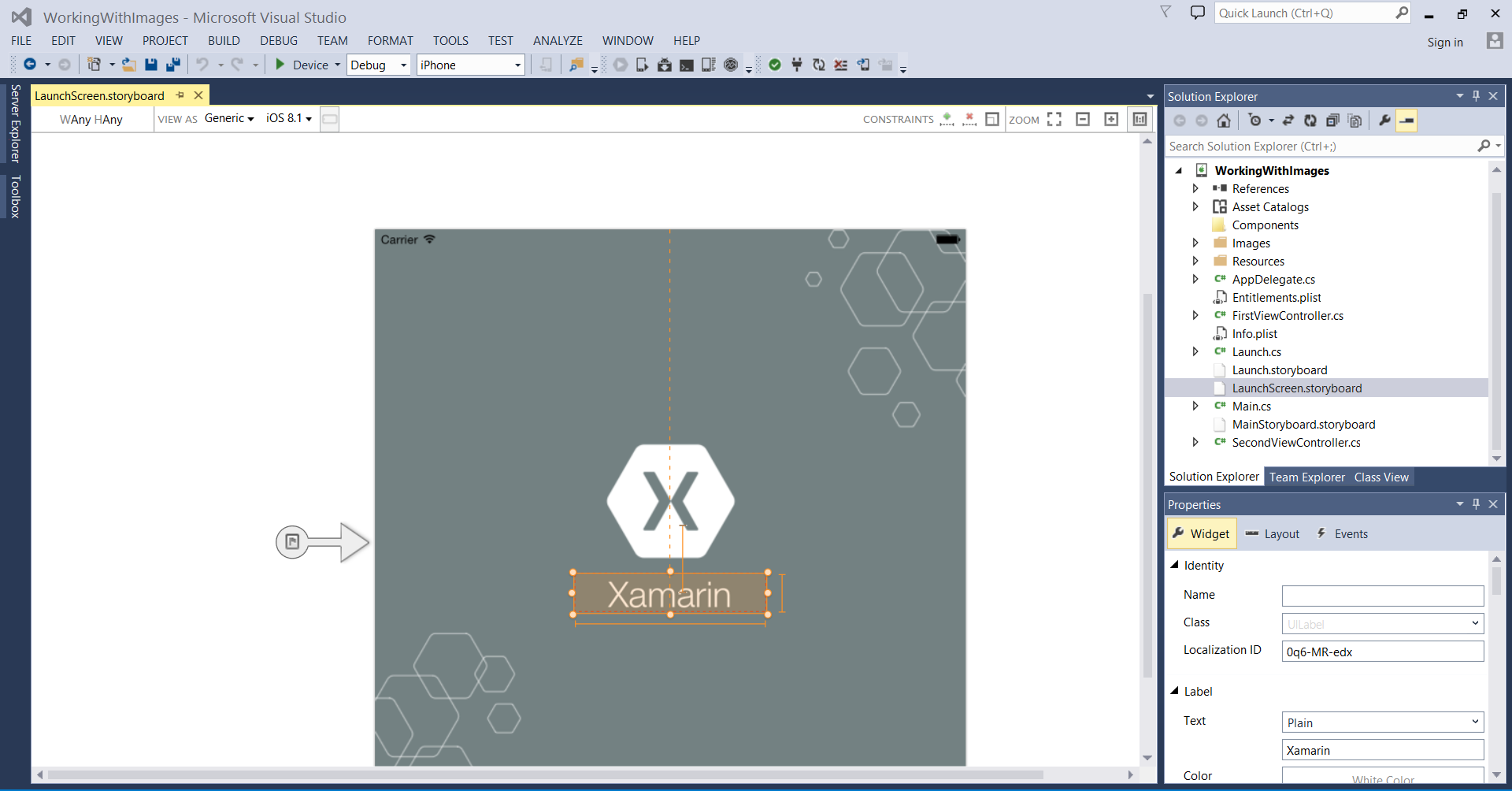Launch Screens for Xamarin.iOS Apps - Xamarin | Microsoft Docs