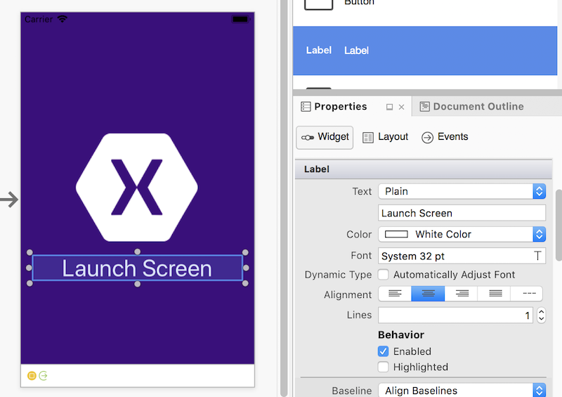 Launch Screens for Xamarin iOS Apps - Xamarin | Microsoft Docs