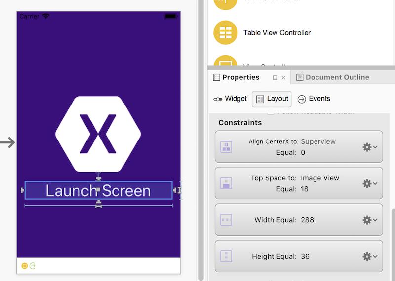 Launch Screens for Xamarin iOS Apps - Xamarin | Microsoft Docs