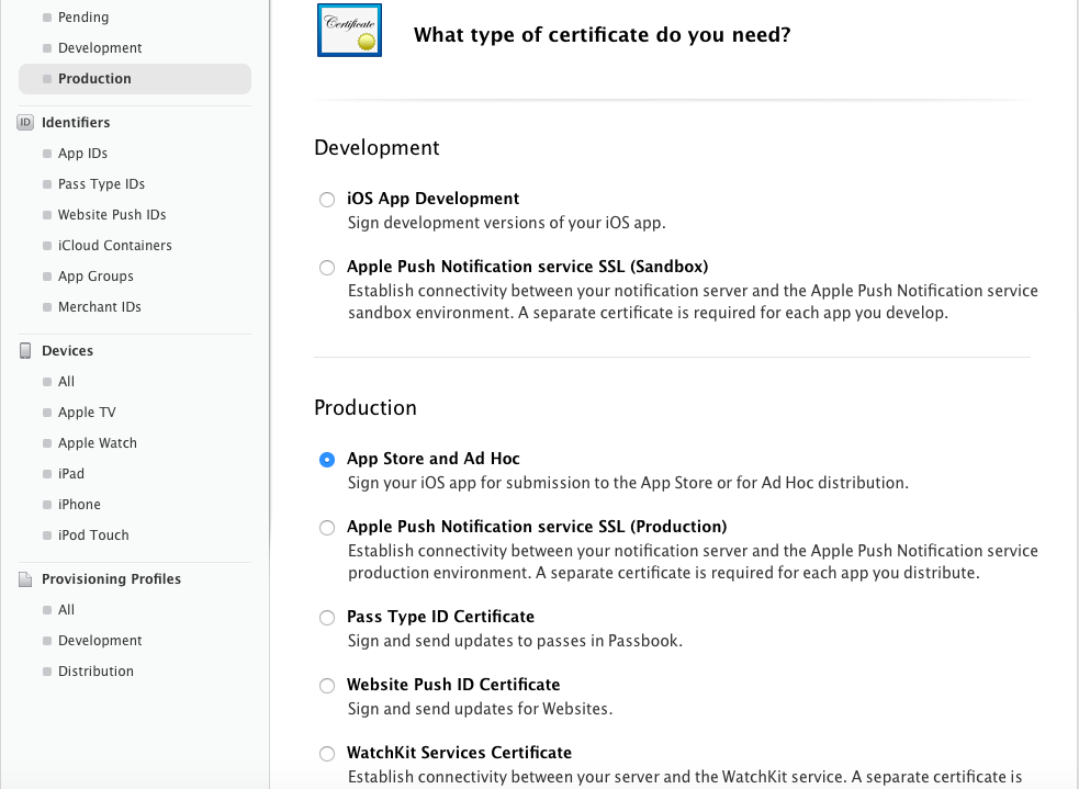 how to create p12 certificate for ios distribution