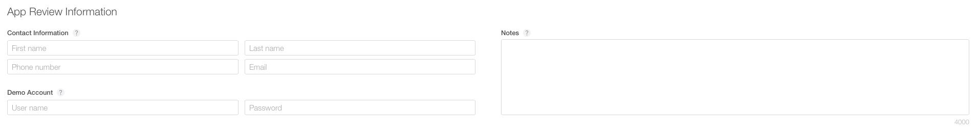 Configuring an App in iTunes Connect - Xamarin   Microsoft Docs