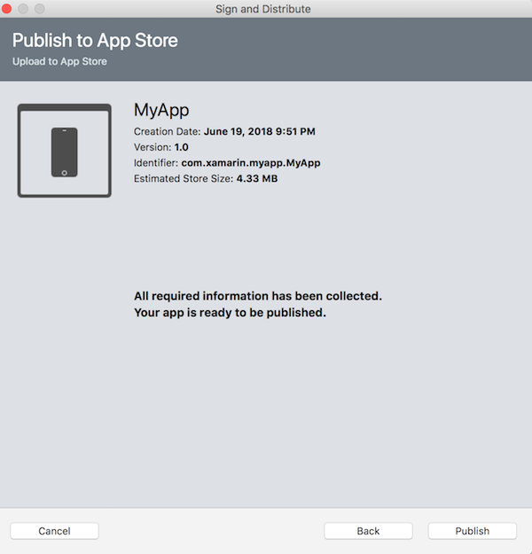 82f0e1ead07 Publishing Xamarin.iOS apps to the App Store - Xamarin | Microsoft Docs