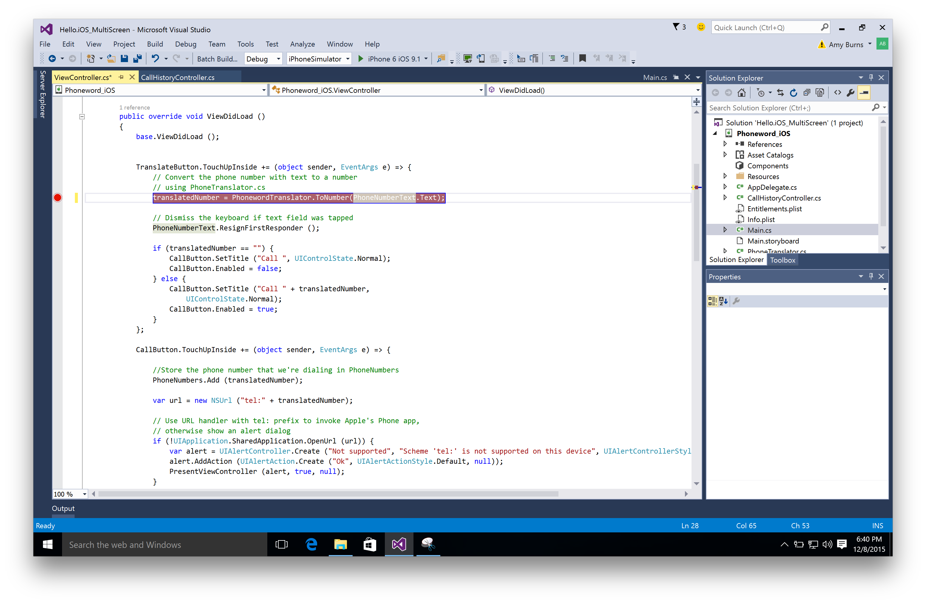 Debugging Xamarin iOS Apps - Xamarin | Microsoft Docs