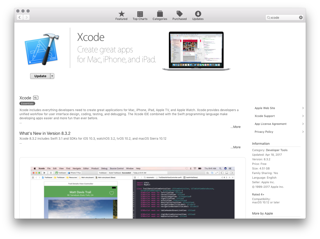 how to install xcode on windows 2018