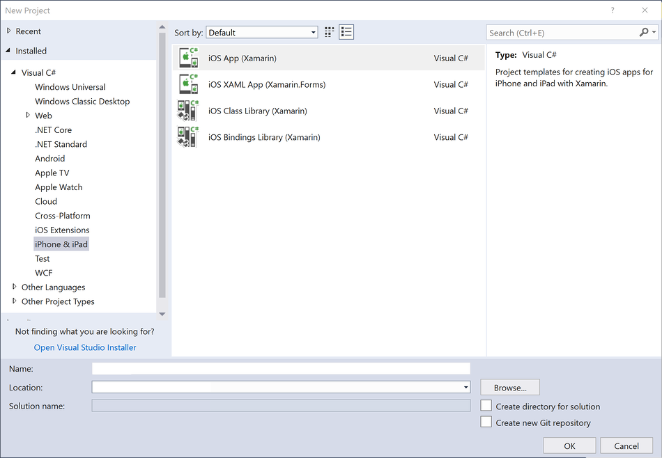 Introduction to Xamarin iOS for Visual Studio - Xamarin   Microsoft Docs