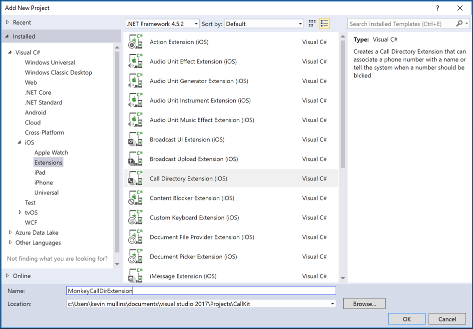 CallKit in Xamarin iOS - Xamarin | Microsoft Docs