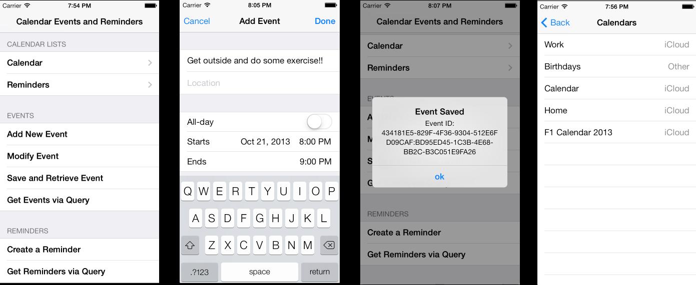 EventKit in Xamarin iOS - Xamarin | Microsoft Docs