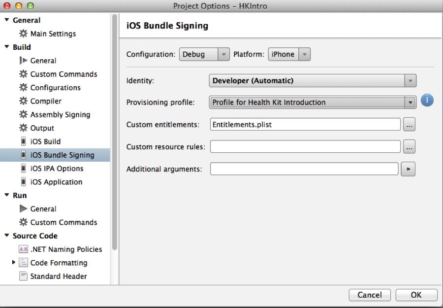HealthKit in Xamarin iOS - Xamarin | Microsoft Docs