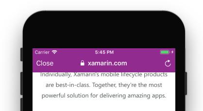 WebKit and Safari changes in iOS 11 - Xamarin | Microsoft Docs