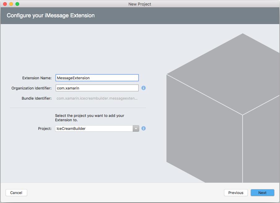 Message App Extension Basics in Xamarin iOS - Xamarin