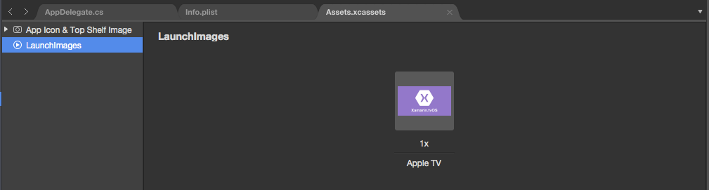 Working with tvOS Icons and Images in Xamarin - Xamarin