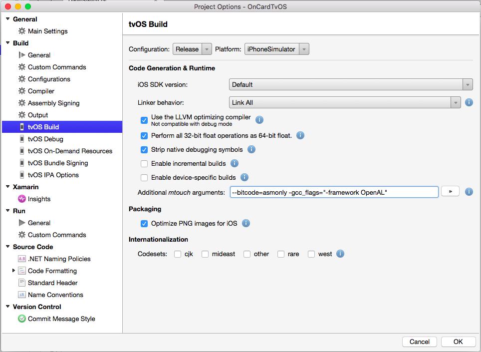 Troubleshooting tvOS apps built with Xamarin - Xamarin