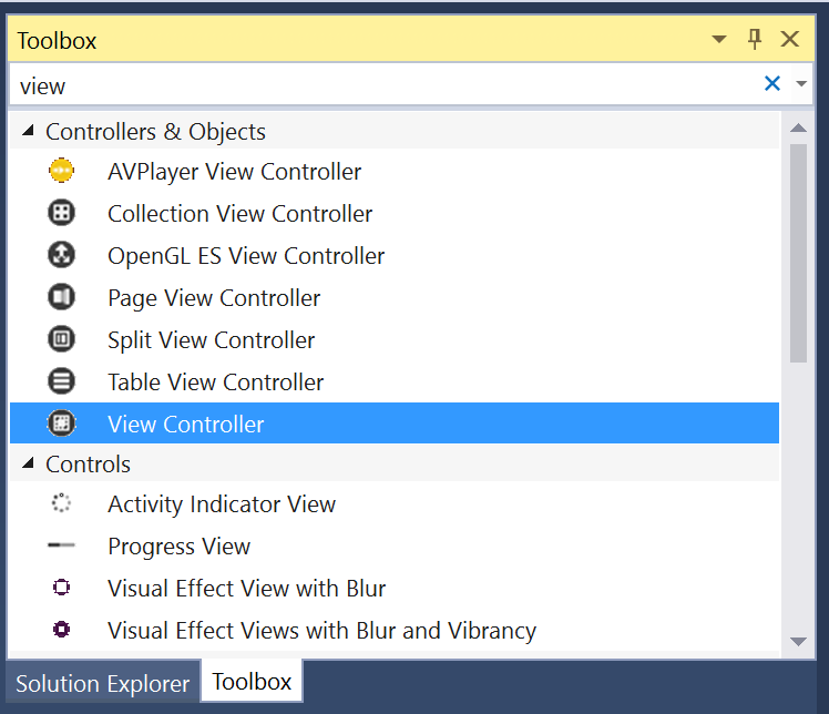 Working with tvOS Split View Controllers in Xamarin