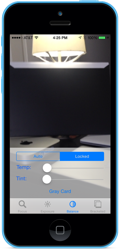 Manual Camera Controls in Xamarin iOS - Xamarin | Microsoft Docs