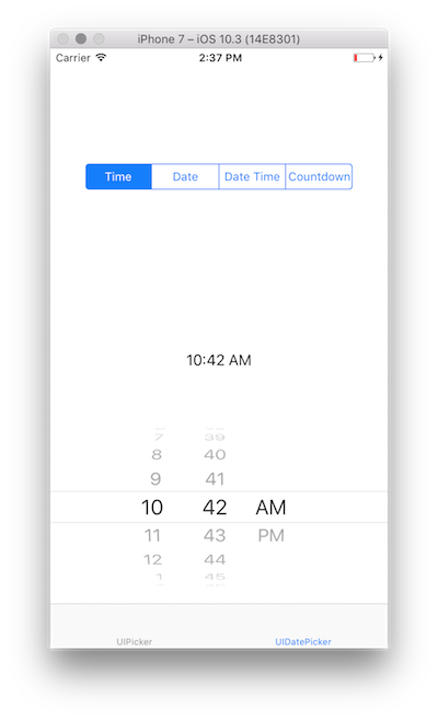 Picker control in Xamarin iOS - Xamarin | Microsoft Docs