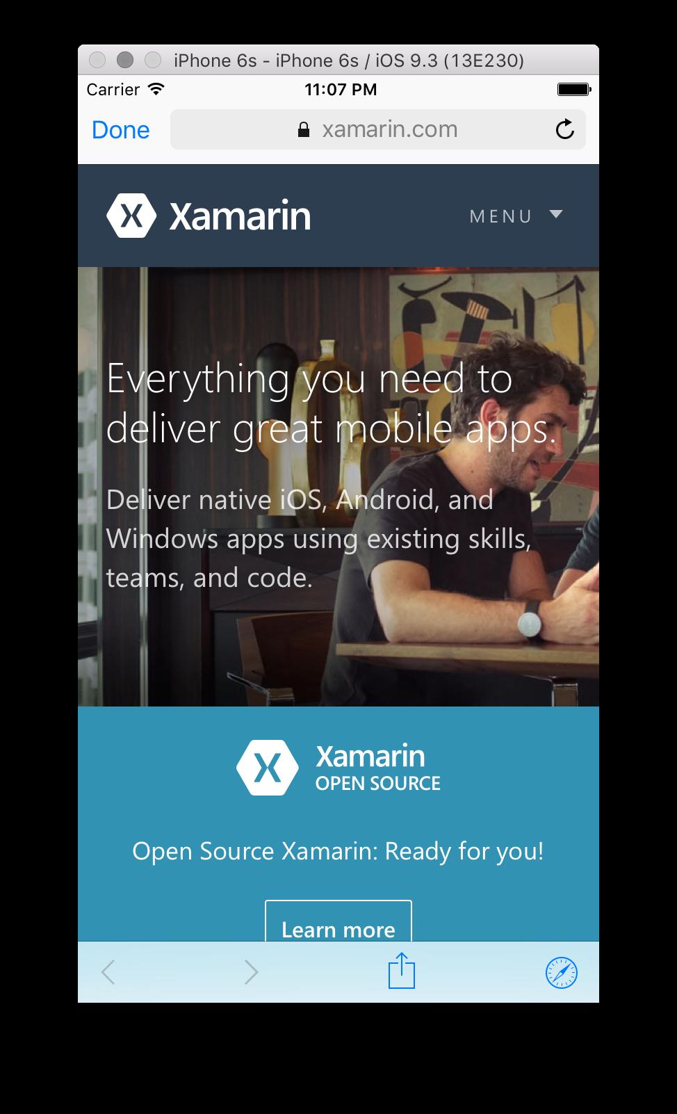 Web Views in Xamarin iOS - Xamarin | Microsoft Docs