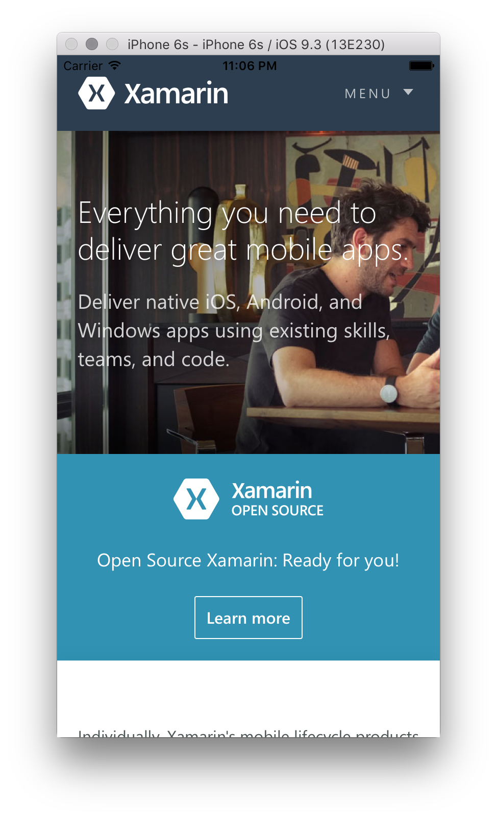 Web Views in Xamarin iOS - Xamarin | Microsoft Docs