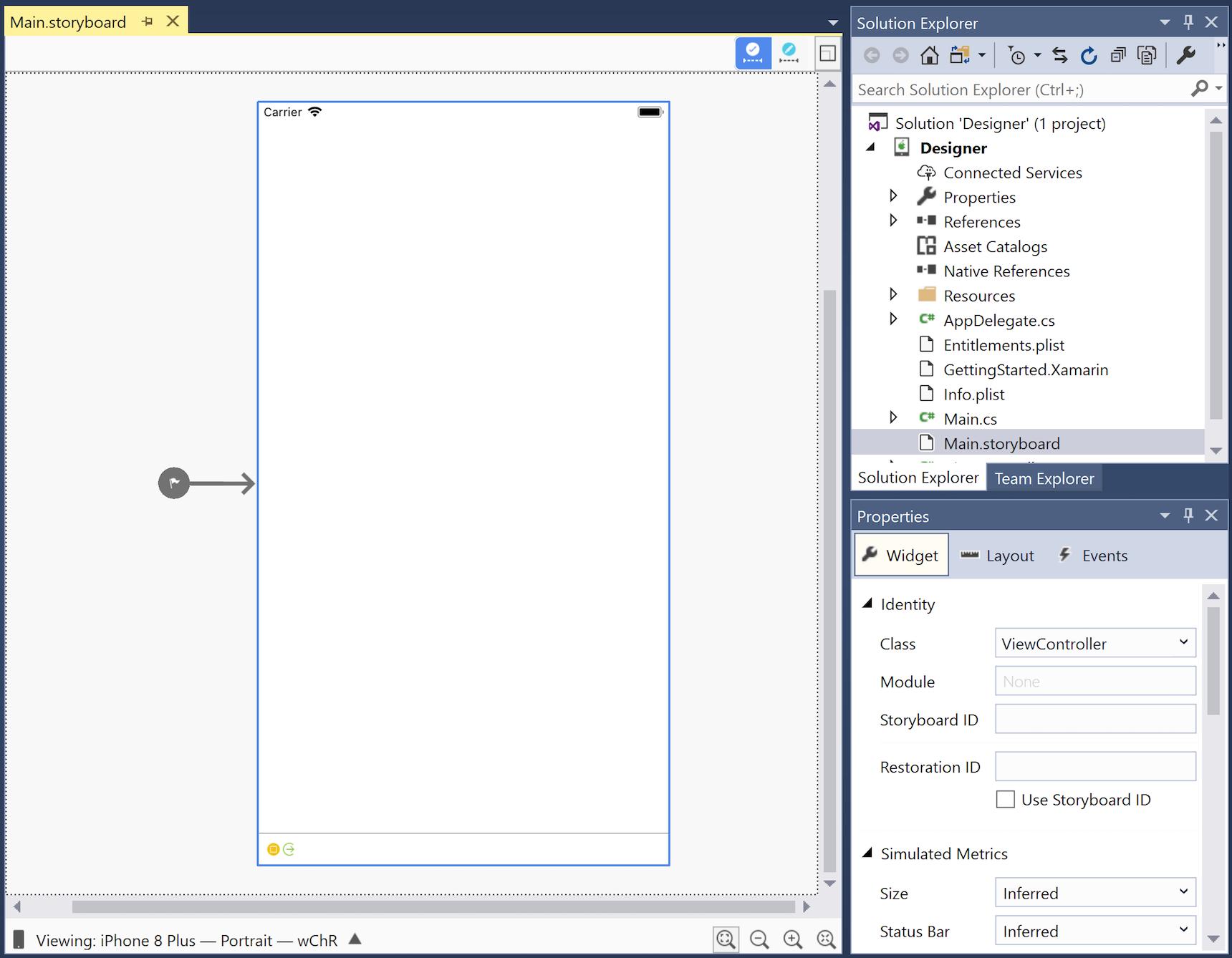 iOS Designer basics - Xamarin   Microsoft Docs