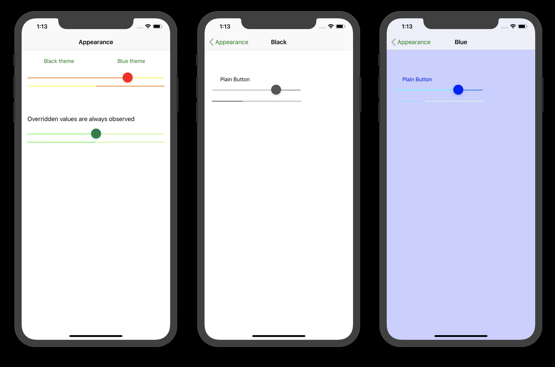Appearance API in Xamarin iOS - Xamarin | Microsoft Docs