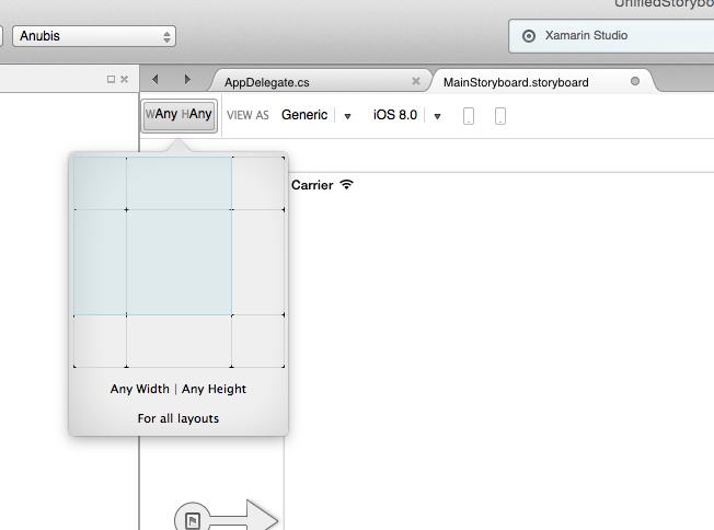 Unified Storyboards in Xamarin iOS - Xamarin   Microsoft Docs