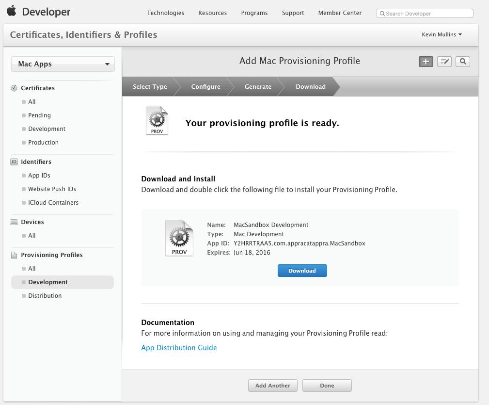 Sandboxing a Xamarin Mac app - Xamarin   Microsoft Docs