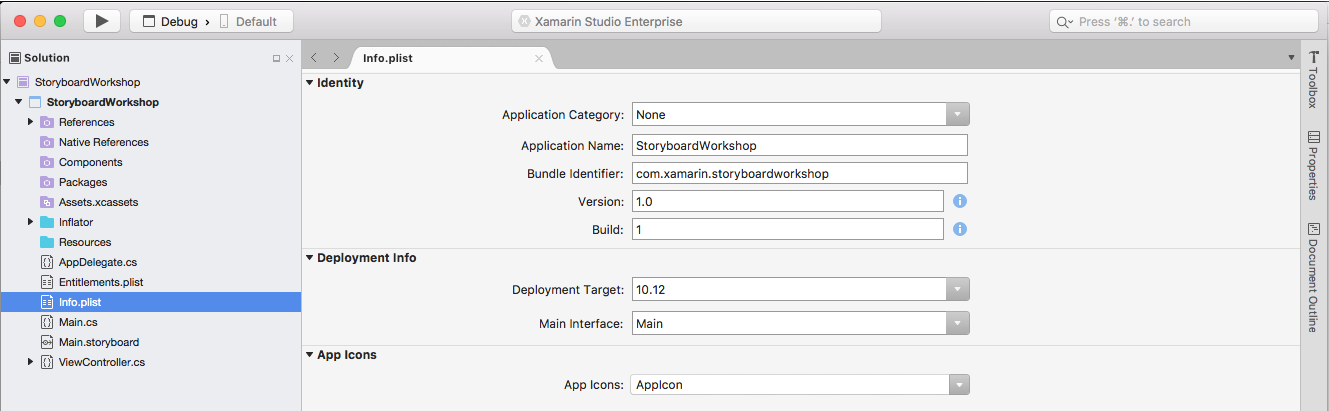 Application icon for Xamarin Mac apps - Xamarin | Microsoft Docs
