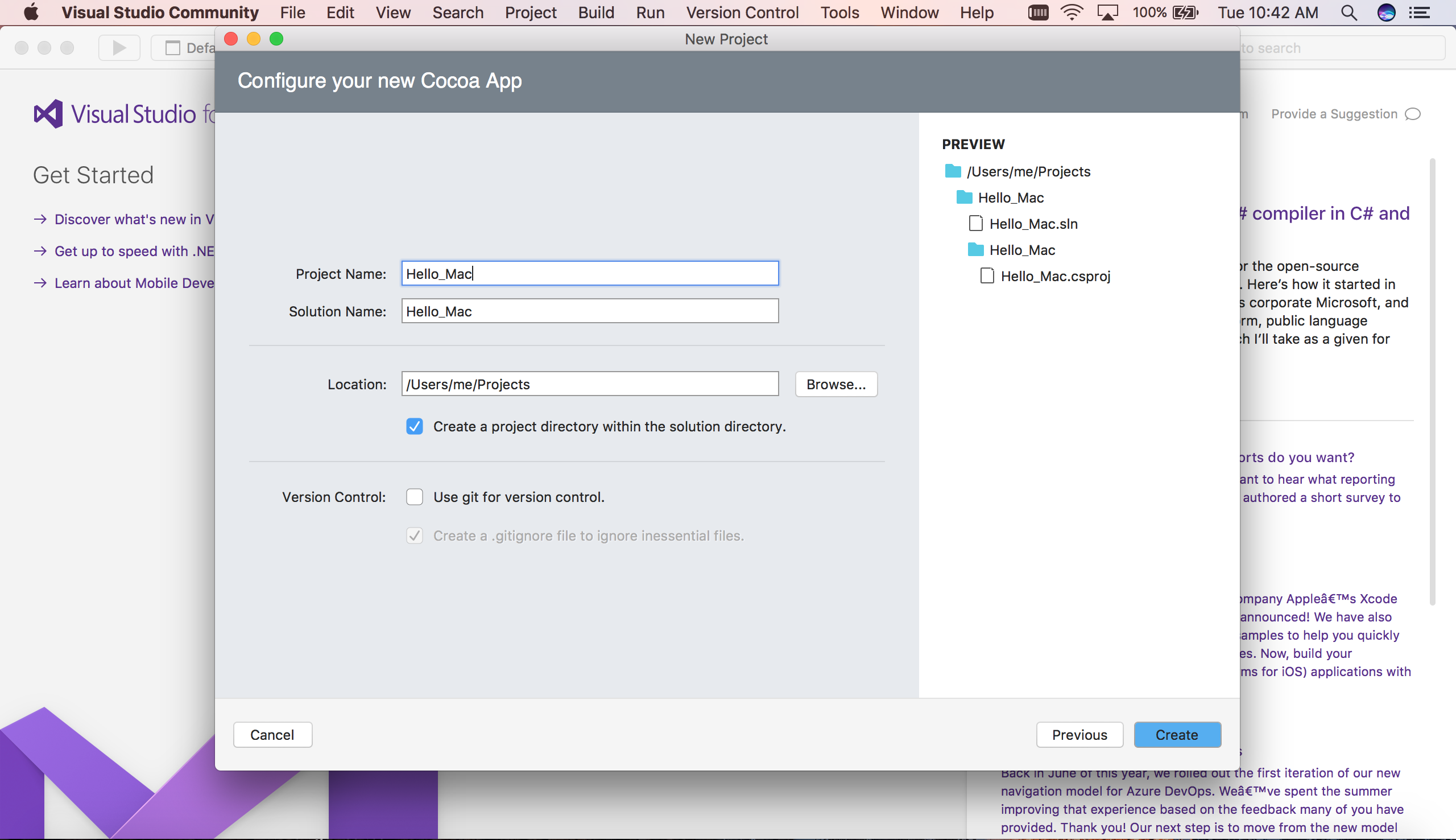 Hello, Mac – Walkthrough - Xamarin | Microsoft Docs