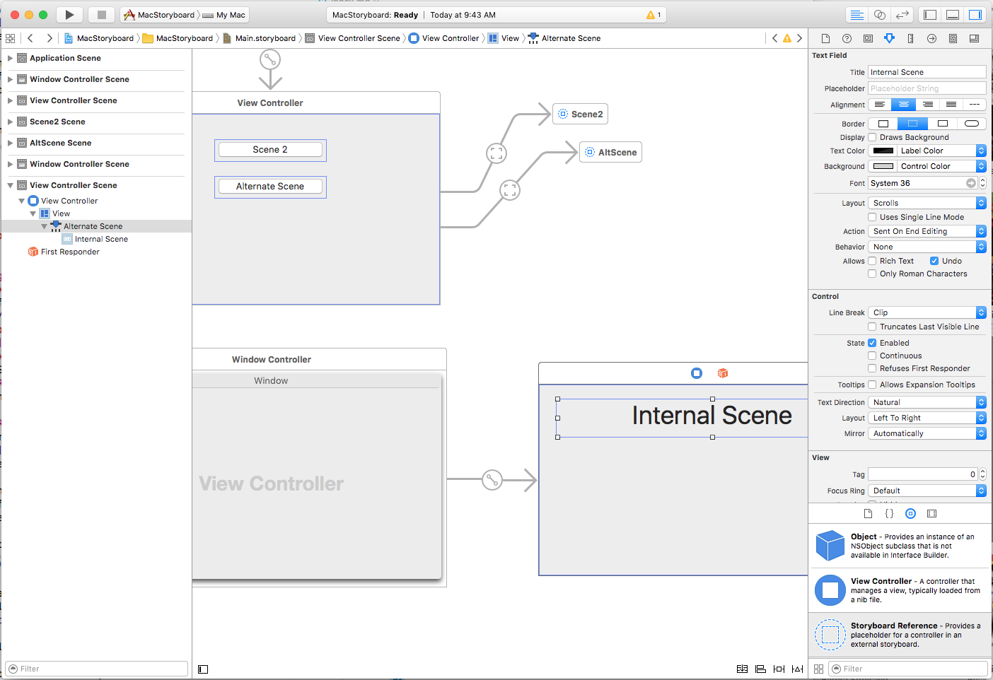 Working with Storyboards in Xamarin Mac - Xamarin