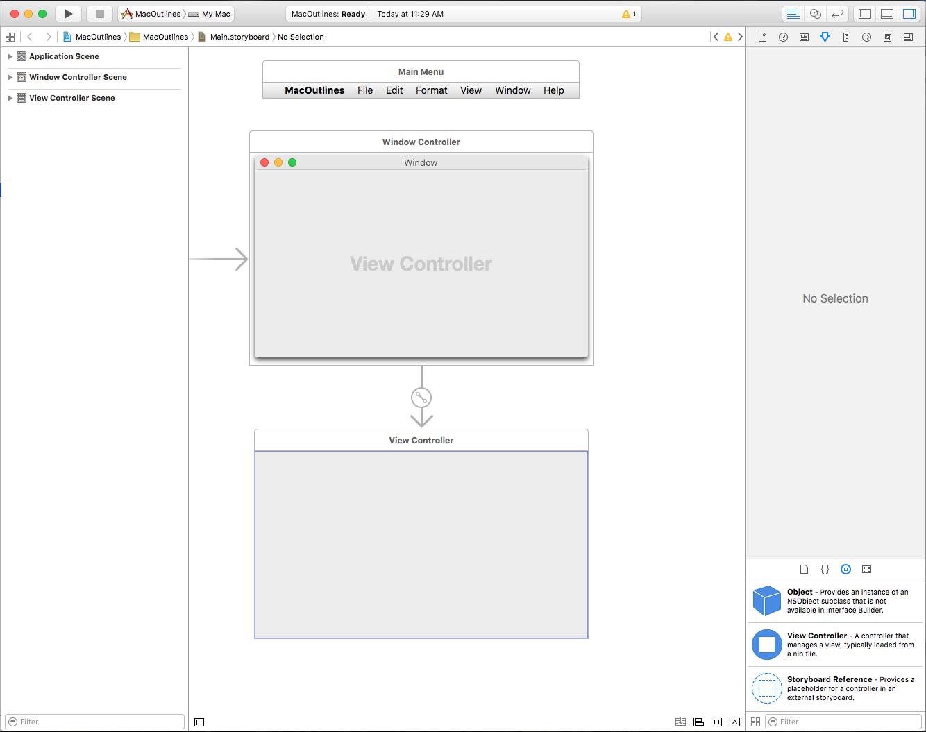 Outline views in Xamarin.Mac - Xamarin   Microsoft Docs