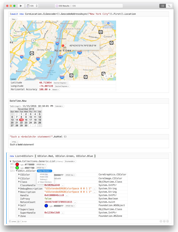 Workbooks & Inspector 1 0 - Xamarin | Microsoft Docs