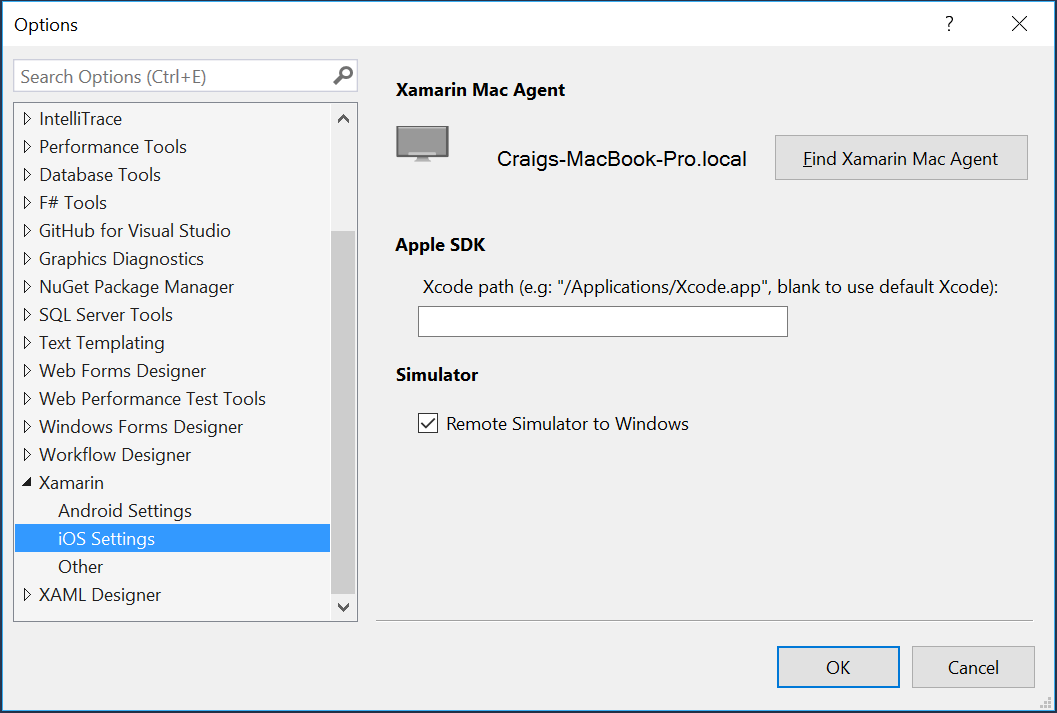 Remoted iOS Simulator for Windows - Xamarin | Microsoft Docs