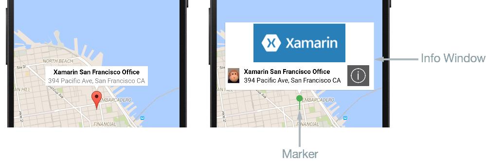 Customizing a Map Pin - Xamarin | Microsoft Docs