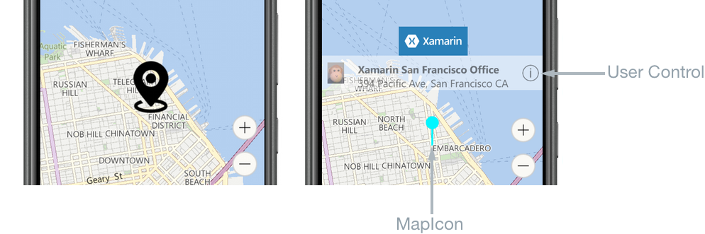 Customizing a Map Pin - Xamarin | Microsoft Docs