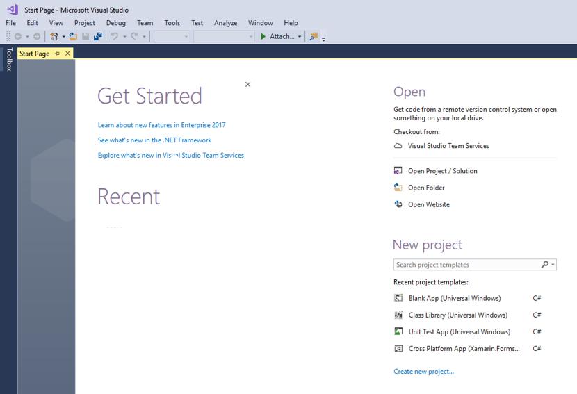 Xamarinrms Quickstart Xamarin Microsoft Docs