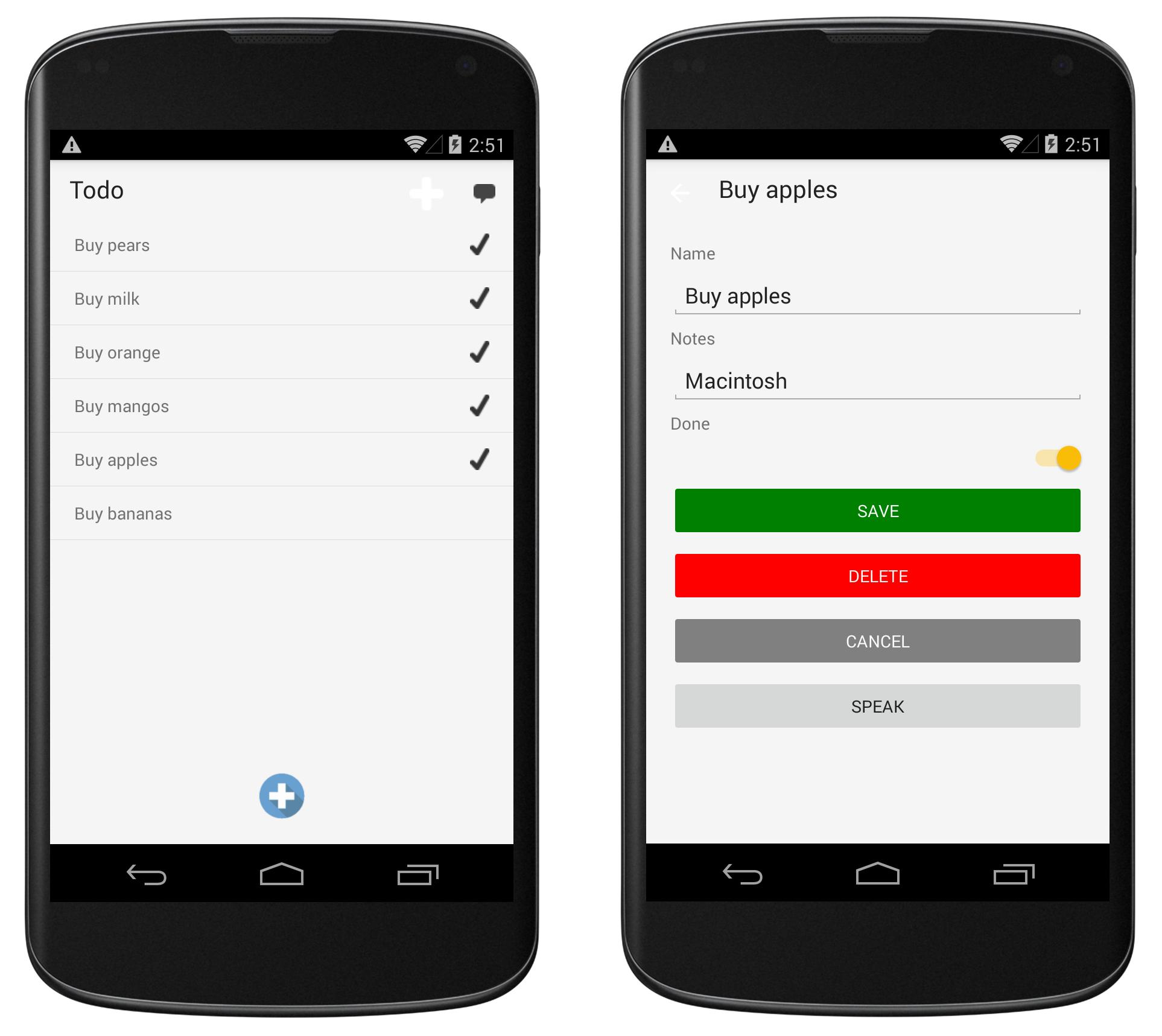 Android Platform Features - Xamarin | Microsoft Docs