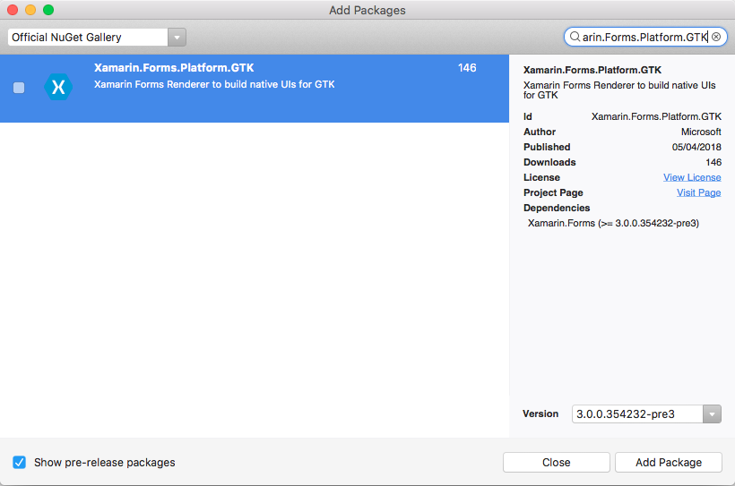 GTK# Platform Setup - Xamarin   Microsoft Docs