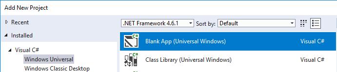 Setup Windows Projects - Xamarin | Microsoft Docs