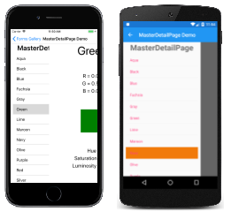 masterdetailpage Xamarin Forms Master Detail Example on settings page, tablet application, forms navigation, forms search box, forms filtering, login page border, forms listview, custom renderer, forms master-detail, shell title view, profile codes,
