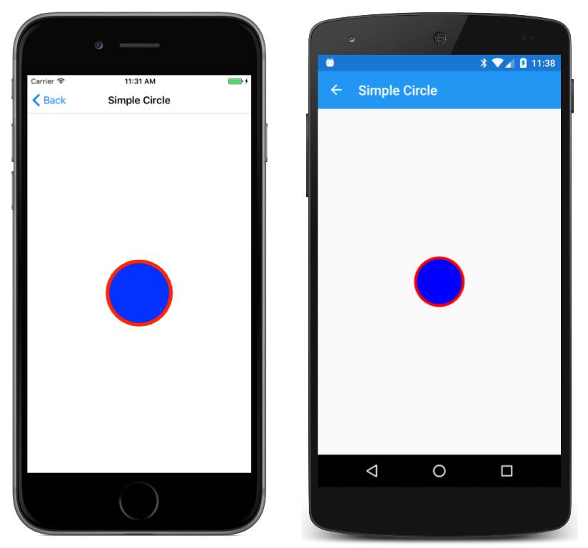 Drawing a Simple Circle in SkiaSharp - Xamarin | Microsoft Docs
