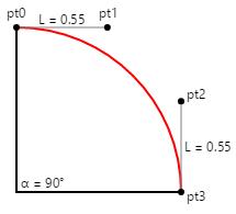Three Types of Bézier Curves - Xamarin | Microsoft Docs