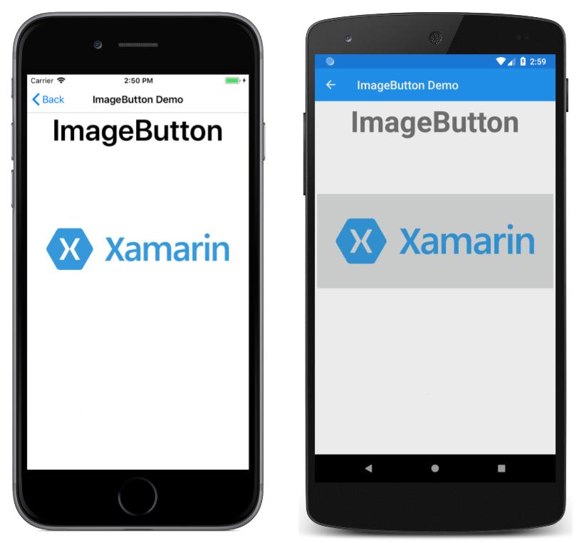 Xamarin Forms ImageButton - Xamarin | Microsoft Docs