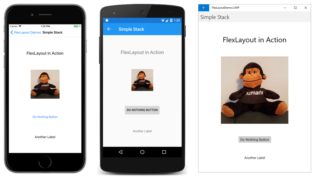 The Xamarin Forms FlexLayout - Xamarin | Microsoft Docs