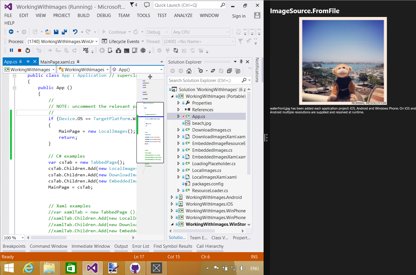 Layout For Tablet And Desktop Apps Xamarin Microsoft Docs