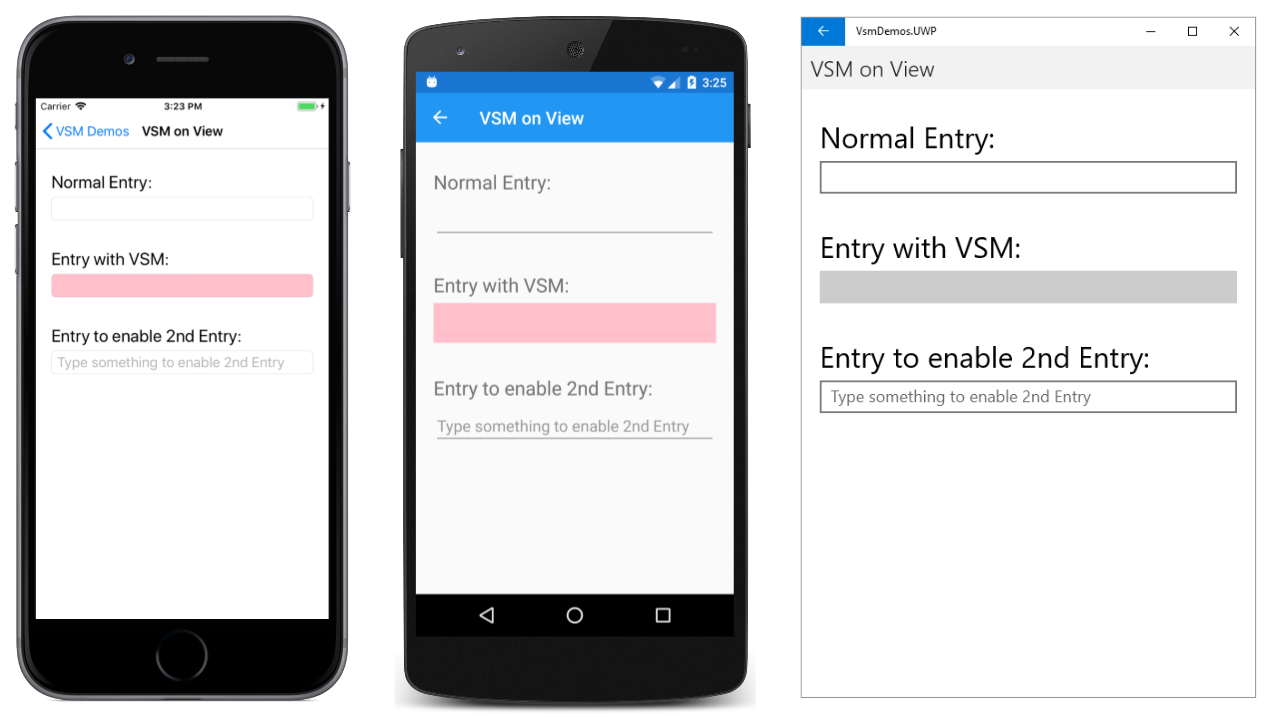 The Xamarin Forms Visual State Manager - Xamarin | Microsoft