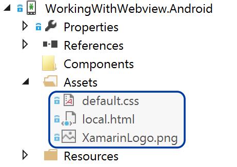 Xamarin Forms WebView - Xamarin | Microsoft Docs