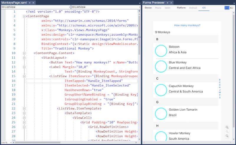 Designer Window Visual Studio