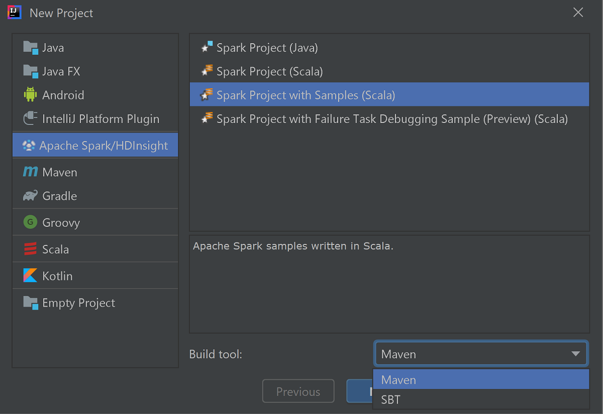 Azure Toolkit for IntelliJ: Debug Spark applications remotely