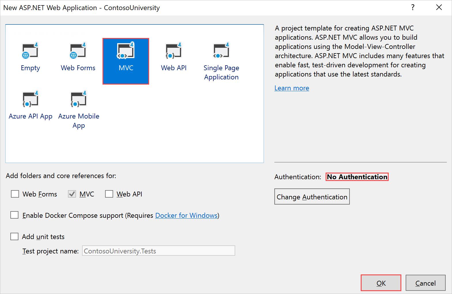 Introducción a Entity Framework 6 Code First con MVC 5   Microsoft Docs