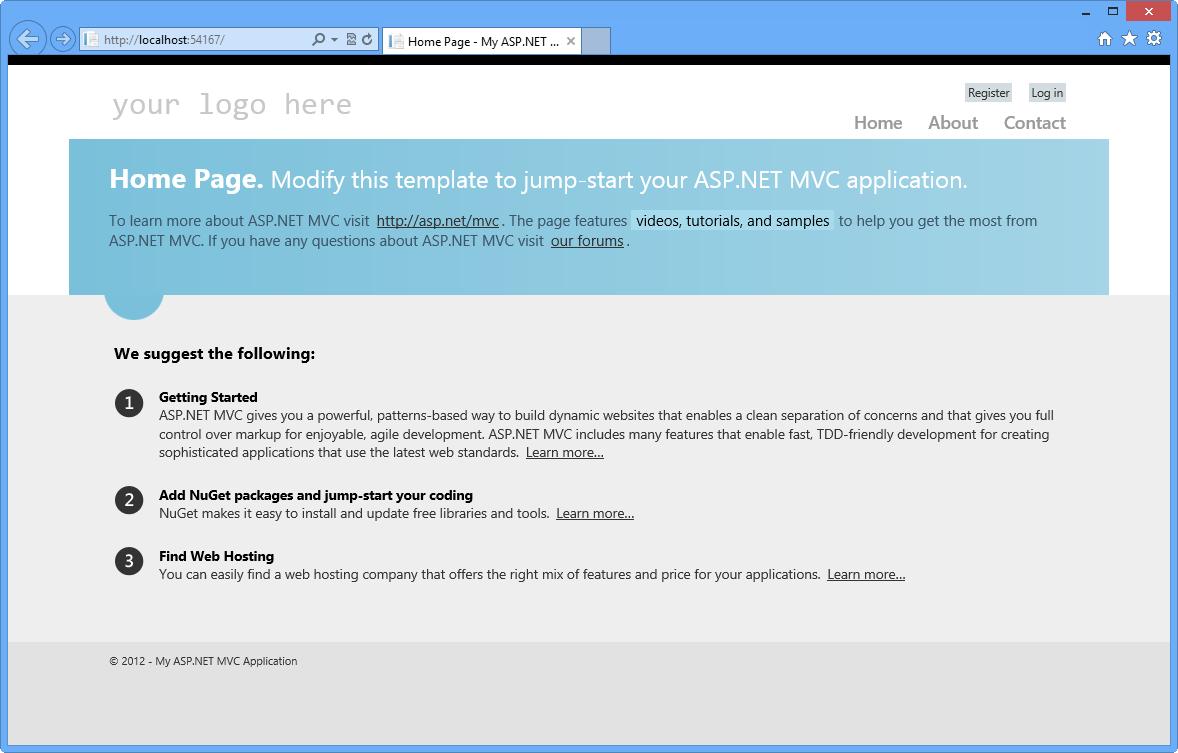 Aspectos básicos de ASP.NET MVC 4   Microsoft Docs