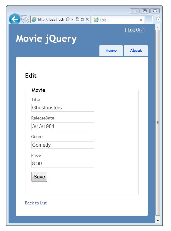 Editable Calendar Using Jquery : Uso de html y calendario emergente la interfaz